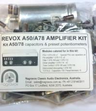 A50 / A78 amplifier capacitor & preset pot upgrade kit